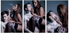 (Scott Chalmers - Photographer) Tags: tattoo jack nikon couple smoking h ayesha bowens gallowtree