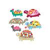 Cute Turtles (Adina C) Tags: cute illustration colorful vector cuteanimals childrenillustration contemporaryillustration freelanceillustrator