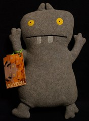 Uglydoll Handmade David Horvath and Sun Min - Babo Original 100 (jcwage) Tags: giantrobot doll handmade ox ugly target gr uglydoll rare uglydolls icebat babo jeero horvath cinko davidhorvath sunminkim sunmin wedghead uglycon original100