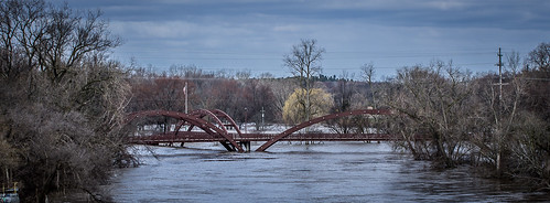 Tittabawassee River Flooding at Midland Michigan