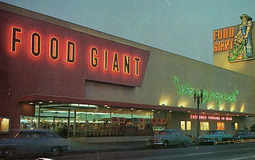 Food Giant Grocery Store In Color Lynwood Ca A Photo On Flickriver