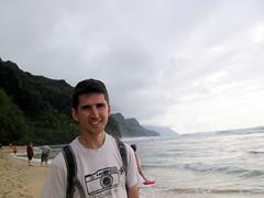 Beach Time (Canadian Veggie) Tags: vacation beach me hawaii trail kauai kalalau haena keebeach napalicoast kalalautrail haenastatepark