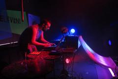 IMG_8169 (Dan Correia) Tags: techno dubstep nightclub livepa lights blacklight mixer cdjs reflection laptop macbookpro macintosh abletonlive icon icontrols quneo motu ultralite encanti beatdownproductions 15fav addme500 topv111 topv333 topv555