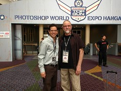 With Bert@Photoshop World 2013 (josefrancisco.salgado) Tags: usa apple us orlando florida iphone bertmonroy josefrancisco iphone5 josfranciscosalgado