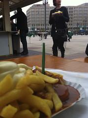 Currywurst am Alexanderplatz
