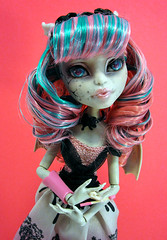 Hestia (nonaptime) Tags: ooak bratz repaint customdoll monsterhigh ghouliayelps rochellegoyle