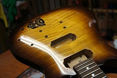 Guitar body buffed to a very high gloss! (Jack's Instrument Services) Tags: guitarsetups guitarrepairs guitarsetupmanchester salford luthier guitartech guitarrepairermanchester lowaction guitaraction headstockbreak brokenheadstock pickuprewind pickupwinding talesfromtheworkbench the fre