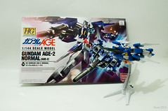 HG AGE-2 Gundam Age-2 Normal High Grade 1/144 (QTTheory) Tags: gundam bandai age2 gunpla plamo highgrade hgage gundamage2