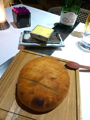 Bread with nice butter (Polly Heartie) Tags: bali indonesia cuisine bigfish legian