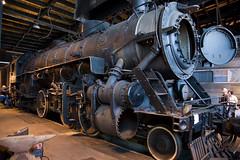 Old 4070 (Grand Trunk Western #4070) Light Mikado (tbower) Tags: railroad ohio history train geotagged nikon raw nef clevelandohio locomotive historicpreservation steamlocomotive mrps iso6400 vintagetechnology cs5 d3s nikongp1 nikkor24120f4vr