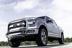 2015 Ford Atlas Concept (a7xbass94) Tags: cars ford coffee truck silver f150 next atlas concept generation irvine 2015 successor
