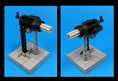 Minigun (Karf Oohlu) Tags: gun lego weapon machinegun minigun moc