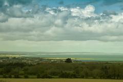 view of balbriggan (thatgirlwiththekicks) Tags: blue trees ireland sky dublin storm grass clouds spring day afternoon turquoise irishsea ardgillan fingal balbriggan