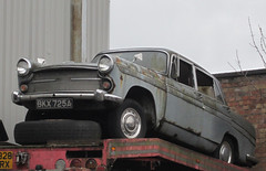 1963 AUSTIN A60 (Yugo Lada) Tags: old london classic cars car austin rusty retro vehicle parked rare a60 1963 mouldy bkx725a
