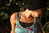 So shy (Spongi;) Tags: summer love girl hat canon eos 350d 50mm peace shy ii wait f18 50 ef ragazza pl timida