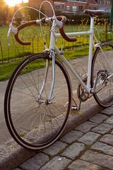 U Scanini (Robin Dua Photography) Tags: white bicycle vintage pip wit fiets koersfiets retrobike uscanini
