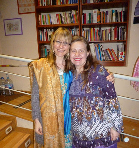 Me and my organiser Jana