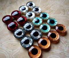 Custom Eyechips for La Dee Dollys Elphabas