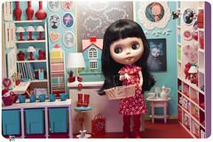 Playscale miniature shop diorama 18