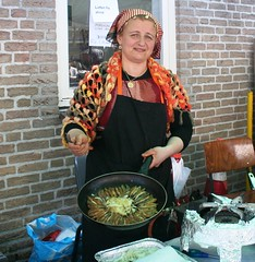 Orhan Gazi Mosk (hazalnurlu) Tags: fish lady baking is mosk orhan gazi