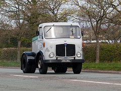 356 DUL  1963 AEC Mercury  Ron  Tinker Engineers  A50 Lymm (wheelsnwings2007/Mike) Tags: mercury ron 1963 engineers tinker 356 a50 aec lymm dul