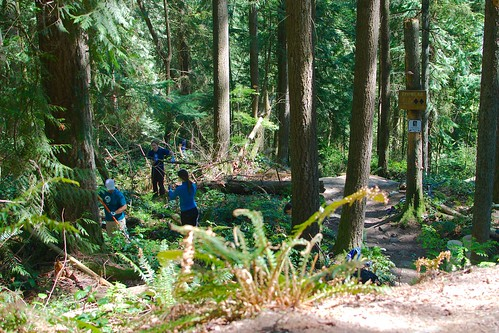 Empress maintenance trail day