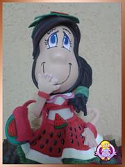 Boneca de eva Melancia (TATI ARTS) Tags: de 3d eva boneco casamento boneca em presente comprar tatis lembrancinhas artesanatoemeva bonecadeeva boneca3demeva comprarbonecadeeva cursodebonecaemeva tatisart festadeecasamento festadeasniversario