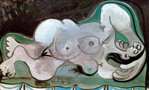"""Genealogía de las Soñantes, versiones de Lucas Cranach el Viejo (1534), Giorgione (1510), Tiziano Vecellio (1524), Nicolas Poussin (1625), Jean Auguste Ingres (1864), Amadeo Modigliani (1919), Pablo Picasso (1920), (1954), (1955), (1961). • <a style=""""font-size:0.8em;"""" href=""""http://www.flickr.com/photos/30735181@N00/8746827221/"""" target=""""_blank"""">View on Flickr</a>"""