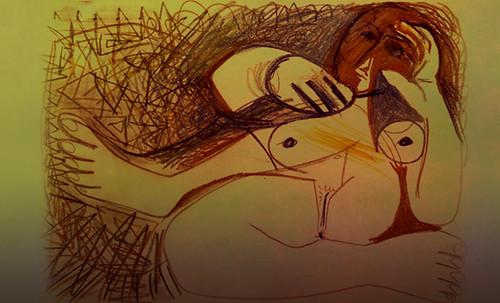 "Majas, homenajes de Francisco de Goya y Lucientes (1802), Eugéne Delacroix (1826), Amadeo Modigliani (1916), Pablo Picasso (1906), (1931), (1959), (1964). • <a style=""font-size:0.8em;"" href=""http://www.flickr.com/photos/30735181@N00/8746852265/"" target=""_blank"">View on Flickr</a>"