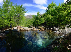 Crazy blue stream (supersky77) Tags: blue lake alps verde green water alpes river lago eau stream blu lac piemonte alpen acqua alpi verte torrente vco valgrande verbanocusioossola lepontine parconazionaledellavalgrande alpilepontine