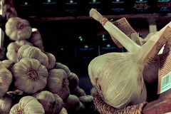 Garlic. (Anja Hebrank) Tags: uk summer england london vegetables canon shopping stand market sommer spice spices boroughmarket garlic borough markt gemse knoblauch gewrz canoneos600d
