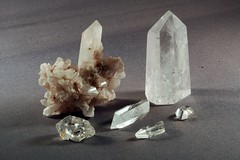 Quartz (ToonFox42) Tags: rock mineral ore gem