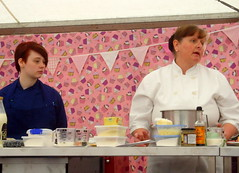 Afternoon Tea making with cook Julie Oddie (Tony Worrall Foto) Tags: show uk england food cooking make cake fun demo baking fantastic year sunday may cook 4th lancashire blackburn event chef celeb bake cooks 19th foodie lancs returned foodshow 2013 haworths femalecook nigelhaworthsfantasticfoodshow julieoddie