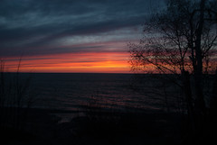 Calumet Waterworks Park, Later (schandle) Tags: sunset michigan lakesuperior calumet waterworkspark