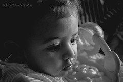 Little Girl (Lex Arias / LeoAr Photography) Tags: bw baby girl venezuela naturallight bn nia bebe barquisimeto luznatural nikond3100