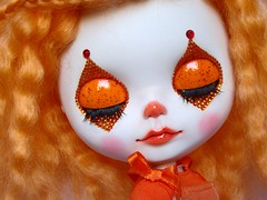 Custom Blythe - Orange Clown