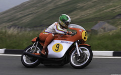 Giacomo Agostini MV Agusta (Betapix) Tags: parade lap tt isleofman mv 2007 honour giacomo iom agusta agostini