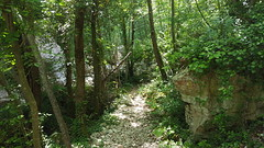 Gole del Salinello - trail (GlobalQuiz.org) Tags: gole del salinello mountains trekking