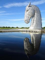 A Kelpie in reflective mood. (cocopie) Tags: kelpie helix reflection cloud earlymorning