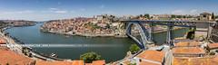 Panorama de Porto (Portugal) (Alexandre66) Tags: portugal porto pont ponte domlouisi 2016 canon 5d mkiii 1635mm f28 l usm ville city