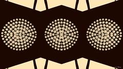 trio (ojoadicto) Tags: abstract abstracto trio tres ambar luces puntos geometria geometry minimalismo artisticphotography digitalmanipulation manipulaciondefotos