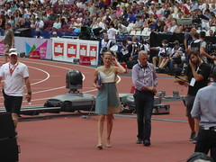 P1040507 (Commander Idham) Tags: muller anniversary games saturday 23 july 2016 team gb great britain rio athletics london olympic stadium 100m relay 3000m steeplechase long jump hurdles 110m gaby logan