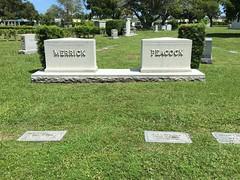 Merrick Peacock  Woodlawn Park Cemetery Miami (Phillip Pessar) Tags: woodlawn park cemetery north miami merrick peacock family