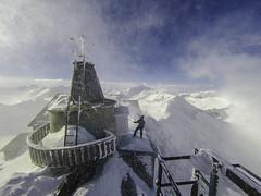Auenarbeiten am Sonnblick-Observatorium. Quelle: ZAMG/Scheer (www.zamg.at) Tags: sonnblickobservatorium