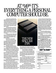 1982 Sinclair ZX81 Personal Computer (Tom Simpson) Tags: sinclair sinclairzx81 zx81 computer pc personalcomputer electronics 1982 1980s vintage ad ads advertising advertisement vintageads computing