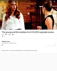 The young and the restless for 8-10-2016 episode review  https://youtu.be/JHXtz57XjcQ  #yr  #theyoungandtherestless  #youngandrestless  #youngandtherestless (san1andreas@bellsouth.net) Tags: thesoapbox thesoaps thesoap soapoperas soapopera soaps soap cbsnetwork cbsdaytime cbs review youngandrestless youngandtherestless theyoungandtherestless yr