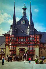 2016 WR Townhall (jeho75) Tags: leica summicron 50mm f2 kodak ektar leitz wernigerode deutschland germany harz rathaus townhall hochzeit