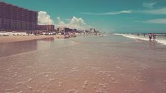 { a day at the beach } (Web-Betty) Tags: beach sea sand surf ocean sun daytonabeach florida atlanticocean