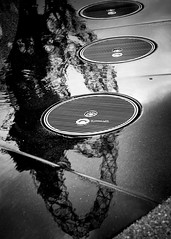 Olympic Rings Vol. II (London Lights) Tags: londonlights olympicringsvolii london lights londres londra blackandwhite monochrome monochromemonday reflections drains nikon