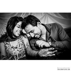 Indian weeding - Mehndi (henna) (ojoscomoplatos) Tags: love couple happiness smile laugh mehndi henna wedding shaadi indianwedding weddingphotography portrait bw candid candidshot fujifilm x100t